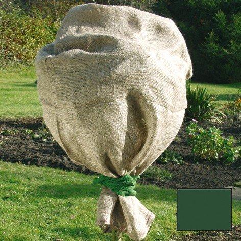 Star green tower sac en jute 60x80cm vert 141352