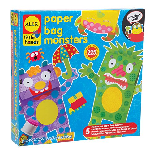 Alex Toys Little Hände Paper Bag Monsters