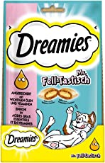 Dreamies Katzensnacks/Klassiker Plus Mr. Felltastisch, 6 Beutel (6 x 55 g)