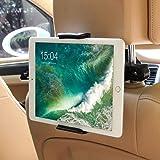 POOPHUNS Tablet Car Mount Houder, Universele Roterende Hoofdsteun Autostoel Mount Houder met 360 Graden Rotatie voor 5-11 Inc