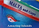 Malta and Gozo Amazing Islands (Wall Calendar 2019 DIN A4 Landscape): Creatively edited photographs of the islands Malta and Gozo (Monthly calendar, 14 pages ) (Calvendo Places)