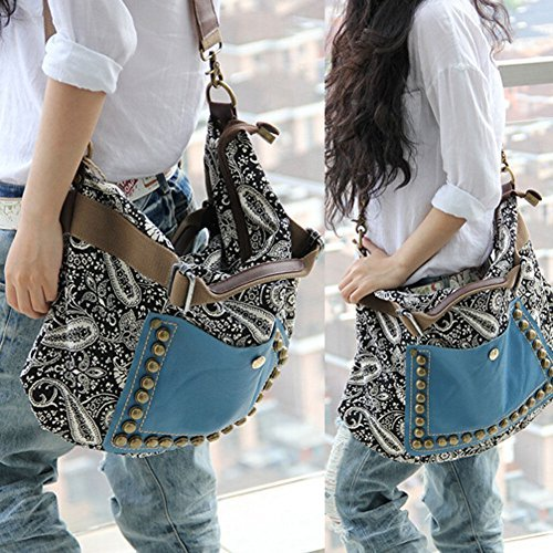 New Hobo, Fashion Bag Tote Messenger Leder Geldbörse Handtasche Frauen - Fashion Hobo Tote