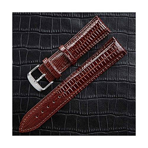 2019 Neue echtes Leder uhrenarmband helle gürtel Uhrband Uhr zubehör 12mm 14mm Henziy-Uhrenarmbänder-Band14568 16mm 18mm 20mm 22mm 24mm -