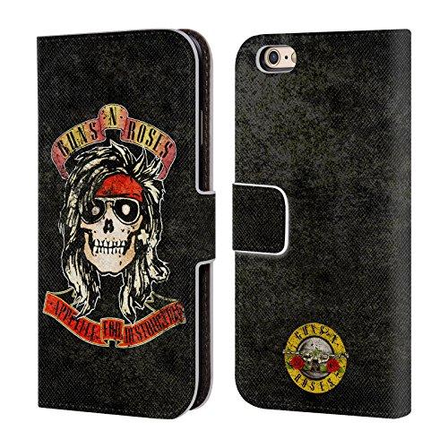 Ufficiale Guns N' Roses Mckagan Vintage Cover a portafoglio in pelle per Apple iPhone 6 / 6s