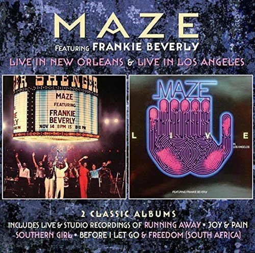 Maze: Live in New Orleans/Live in Los Angeles (Audio CD)
