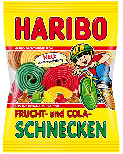(Haribo Frucht-und Colaschnecken, 6er Pack (6 x 175 g))