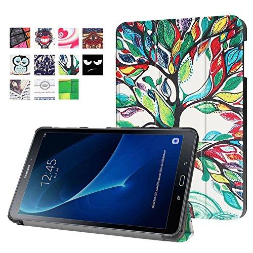 Hülle für Samsung Galaxy Tab A 10.1 SM-T580 T585 Zoll Schutzhülle Etui Tablet Tasche Smart Cover T580N T585N NEU