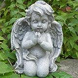 Engel Figur kniend und betend, Dekoengel. Höhe 16,5cm. 1 Stück