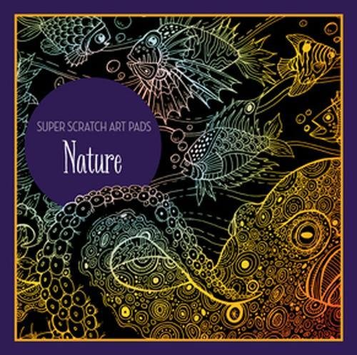 Super Scratch Art Pads: Nature por Sterling Children's