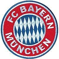 FC Bayern München Aufnäher, Patch, Aufbügler Logo Ø 8 cm FCB - Plus Lesezeichen I Love München
