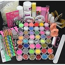 Tongshi Caliente Pro completo 36W blanco cura lámpara secador + 12 Color UV Gel uñas herramientas Set Kit
