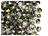 50 pc Czech Perle Sfaccettato vetro, Fire-Polished Rotondo 6mm Crystal Vitrail