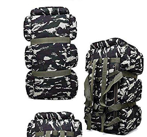 BM Arrampicata borse all'ingrosso Borse Borse 90L all'aperto campeggio tenda Camo zaino , army green , 90l 4# camouflage