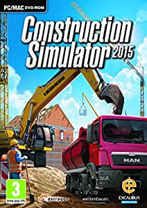 Construction Simulator 2015 - UK & Europe only (PC DVD/MAC) [Edizione: Regno Unito]