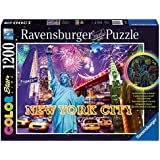 Ravensburger Spieleverlag 16181 - Farbenfrohes New York - 1200 Teile Color Starline Puzzle