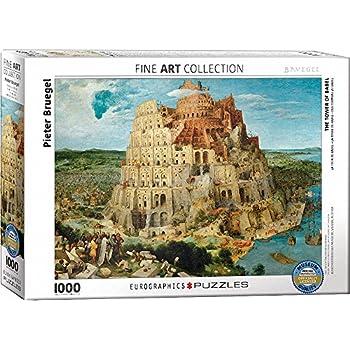 eurographics pieter bruegel the tower of babel puzzle 1000 piece multi colour
