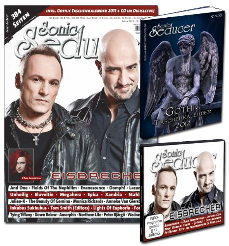 Sonic Seducer 02-12 mit Eisbrecher-Titelstory + Gothic Taschenkalender 2012 + CD, Bands: Unheilig, And One, Evanescence, Oomph, Corvus Corax, Amorphis ... 2012 + Cold Hands Seduction-CD im Digisleeve
