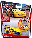 Disney/Pixar Cars Jeff Gorvette Diecast and Micro Drifters, 2-Pack by Mattel