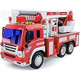 BeebeeRun Spielzeug Auto f/ür Kinder,Spielzeug 2 j/ährige Junge M/ädchen,Polizeiauto,Feuerwehrauto,Krankenwagen,M/üllwagen