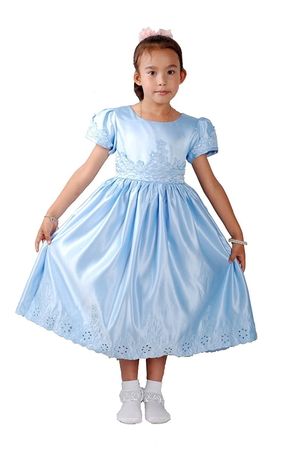 Cinda girls wedding party flower girl bridesmaid dress cinda girls wedding party flower girl bridesmaid dress amazon clothing ombrellifo Image collections