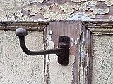 Stile antico girevole in ghisa da armadio guardaroba cappotti e cappelli Utility Hook