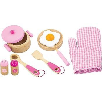 Large Girls Kids Pink Wooden Play Kitchen Children S Role