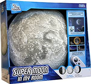 Buy Uncle Milton Super Moon In My Room Gray Online At Low Prices In India Amazon In