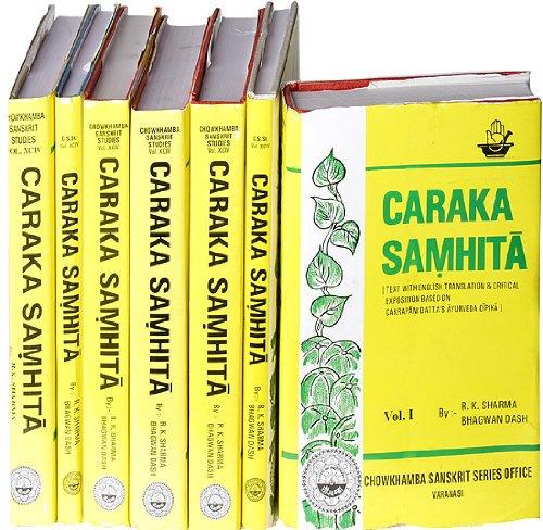 Caraka Samhita: Text With English Translation & Critical Exposition Based on Cakrapani Datta\'s Ayurveda Dipika (7 Volume Set)