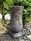 Granitvase kompakt 26cm x 12cm Granitvase Orion Friedhofsvase Granit Grabvase Granit