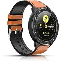 Montre Intelligente, Tracker de Fitness avec fréquence Cardiaque, podomètre Bluetooth Smartwatch à écran Couleur, Suivi…