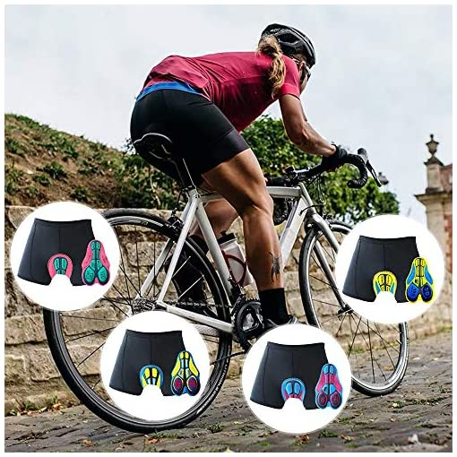 Oleein Ciclismo Mutande Gel 3D Imbottite Bicicletta