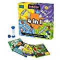 BrainBox 4 in 1 Game: Cities, Sport, Nature and Space from Green Board Games