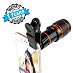 Envilean Mobile Blur Background 8X Optical Zoom Mobile Telescope Lens kit for All Mobile Camera | Background Effect Macro...