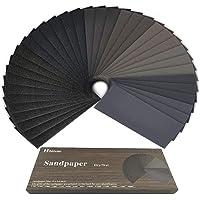 Papier de verre, 120 à 3000 Grain Papier abrasif eau/sec 9 x 3,6 pouces, Utilisé pour polir le métal, le bois, les…