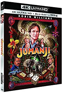 Jumanji [4K Ultra HD + Blu-ray + Digital UltraViolet]