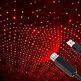 USB Star Projector Night Light Plafoniere per auto regolabili Decorazioni per luci notturne USB portatili per interni auto /