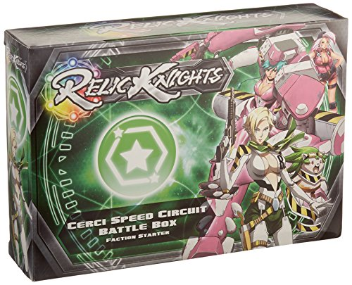 Relic Knights: Dark Space Calamity: Cerci Speed Circuit Battle Box