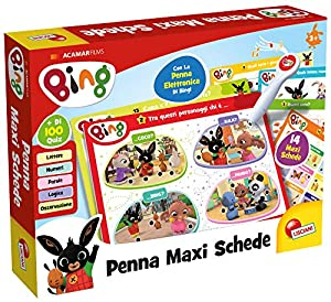 Lisciani Giochi - Bing bolígrafo Maxi Card Juego para niños, 76871
