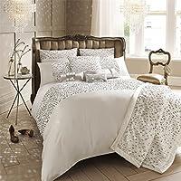 Bettwäschegarnituren Bettwäsche Satin Streifen Weiß Super King 200tc 100% Cotton Bettdecke Bettdecke Hülle