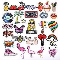 Il caldo o cucire-on patch sono il perfetto complemento decorativo per un indumento da indossare o un progetto artistico.Perfetto per gli asciugamani, coperte, cuscini, borse, scrapbooking, zaini, grembiuli, giacche, pantaloni, t- shirts, cos...