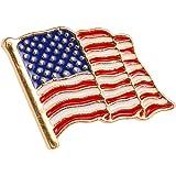TENDYCOCO Pin della Bandiera Americana della Bandiera della Spilla della Bandiera della Spilla della Bandiera di USA