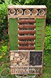 Insect Hotel, Weatherproof, 48-Inch Tall, XXL,...