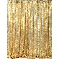 Soardream Gold Sequin telón de fondo de tela de lentejuelas, telón de fondo fotografía,