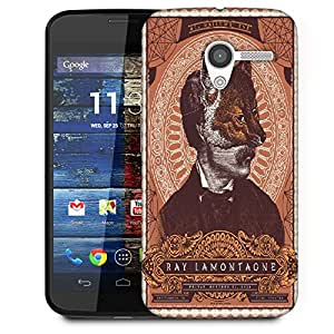 Snoogg Ray Lamontagne Designer Protective Back Case Cover For Motorola Moto X