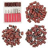 300pcs 80/120/180grano Drill ponage bandas con 6Reemplazo