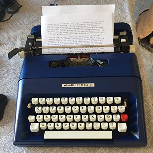 Macchina da Scrivere Olivetti Perfettamente