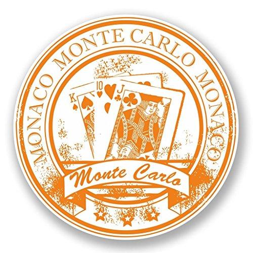 2 x 30cm/300mm Monaco Monte lo Fenster kleben Aufkleber Auto Van Wohnmobil Glas #5938