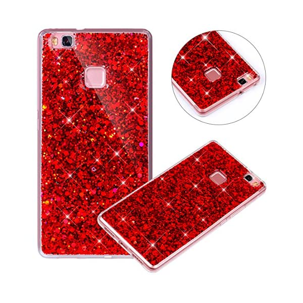 Custodia Huawei P9 Lite Cover Huawei P9 Lite Rosso Cover In