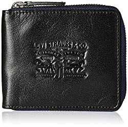 Levis Leather Brown Mens Wallet (37541-0058)
