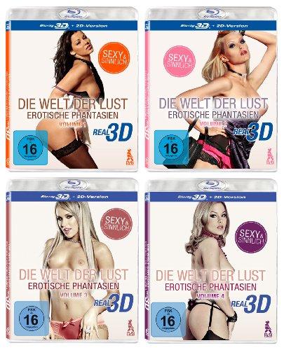Die Welt der Lust Super Set - Real 3D Edition (4 3D Blu-rays mit vielen heißen Girls)